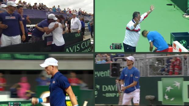 Copa Davis - As� est�n los cuartos tras la primera jornada