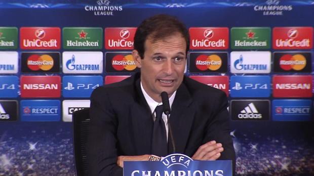 """Foot : LDC - Juventus Turin, Allegri : """"Une erreur qui nous coûte cher"""""""