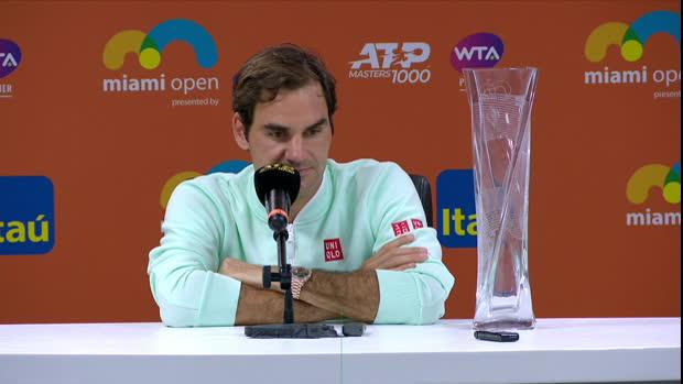 Miami: Federer verrät Geheimnis seines Sieges