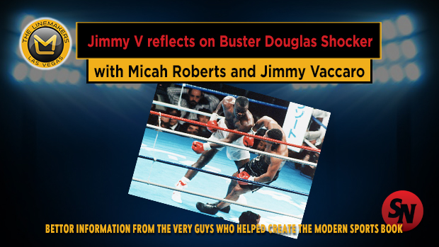 Jimmy V reflects on Buster Douglas Shocker