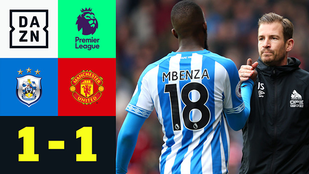 Premier League: Huddersfield - Manchester United | DAZN Highlights