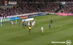 Melbourne City FC midfielder Erik Paartalu netted a last minute winner to stun Melbourne Victory in the derby.
