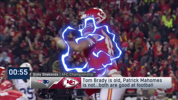 Sixty Shekonds: NFL Network's Dave Dameshek makes his AFC title game pick