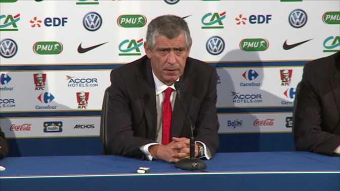 Santos regrette l'entame de la Seleção