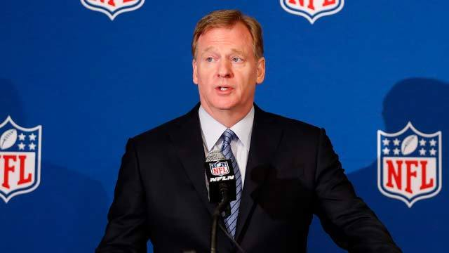 Roger Goodell, owners and team officials announce details of new national anthem policy