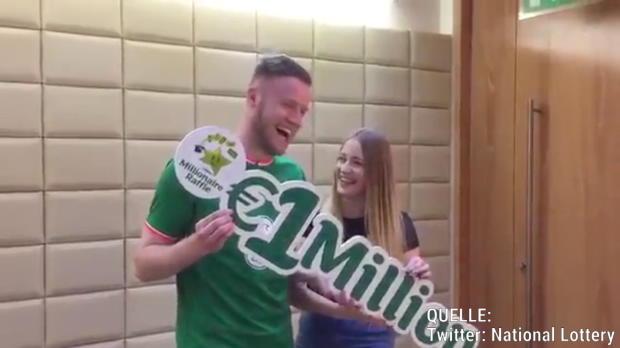 Fußballprofi durch Lotterie zur Million