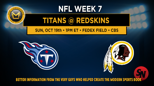Tennessee Titans @ Washington Redskins