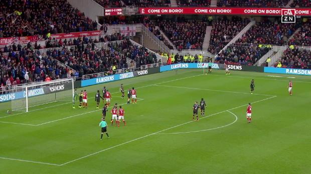 Middlesbrough - Everton