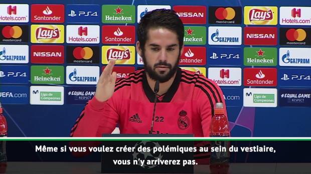 Real Madrid - Isco - 'Lopetegui a toute notre confiance'