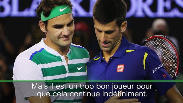 : Roland-Garros - Federer - 'Djokovic est dans une situation relativement difficile'