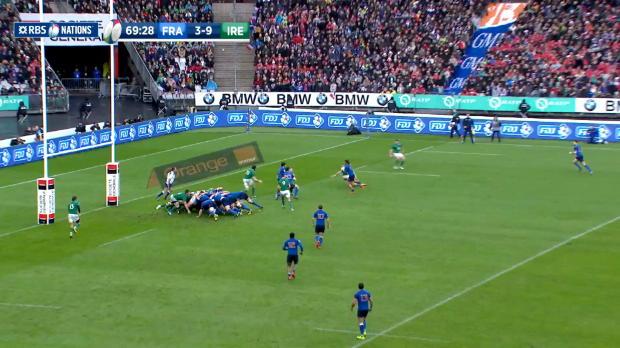 Maxime Medard, Try, France v Ireland, 13th February 2016