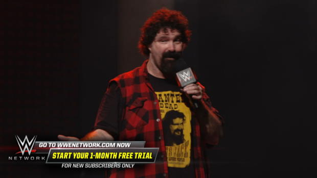 What it feels like to fall 16 feet through an announce table: Mick Foley: 20 Years in Hell (WWE Network Exclusive)