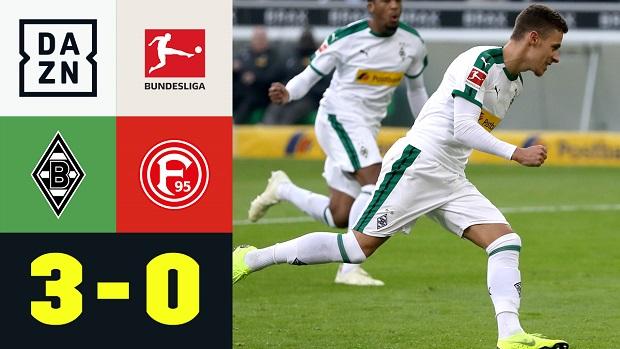 Bundesliga: Borussia M'gladbach - Fortuna Düsseldorf   DAZN Highlights