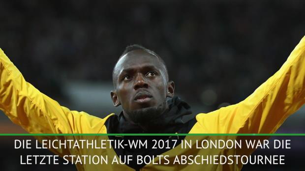 Usain Bolt 2017: Karriereende mit Verletzung