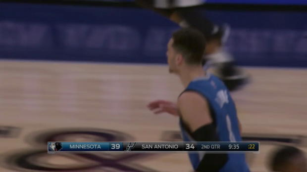WSC: Zach LaVine with the dunk!