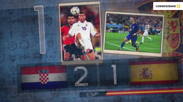 Fünf Fakten nach Kroatien gegen Spanien