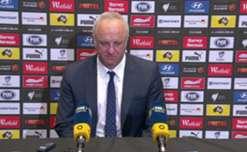 Sydney FC Rd16  press conference