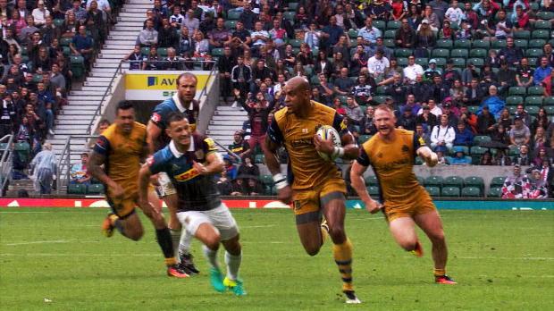 Aviva Premiership - Bristol Rugby's Tom Varndell - Premiership Rugby's record breaker
