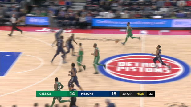 GAME RECAP: Celtics 110, Pistons 98