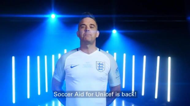 Bolt kickt im Old Trafford ... für Unicef