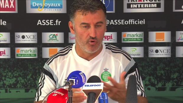 """Foot : ASSE - Galtier : """"Le bon moment pour jouer Paris"""""""