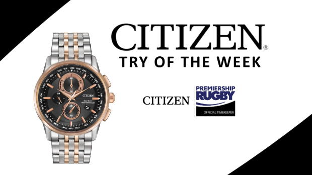Aviva Premiership - Citizen Try of the Week - Round 20