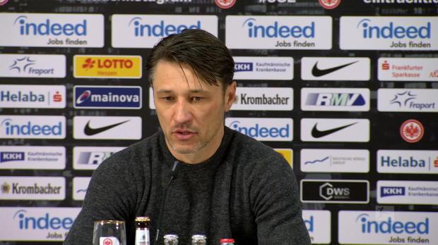 """Kovac kritisch: """"Schlechte zweite Halbzeit"""""""