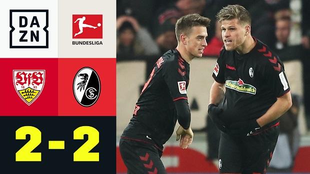Bundesliga: VfB Stuttgart - SC Freiburg | DAZN Highlights