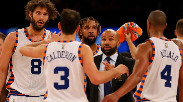 New York Knicks entlassen Coach Derek Fisher