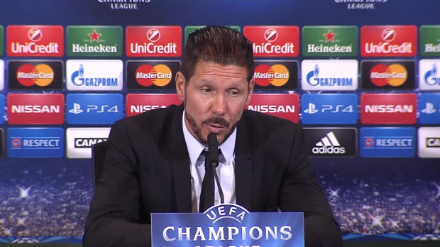 Groupe A - Simeone - 'On est plus r�guliers'