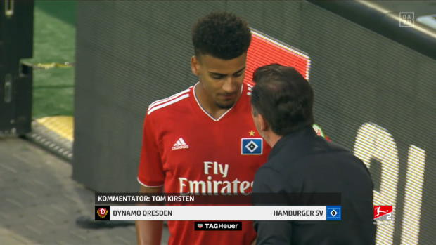 2. Bundesliga: Dynamo Dresden - Hamburger SV | DAZN Highlights