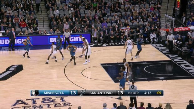 WSC: Ricky Rubio with 14 Assists against the Spurs