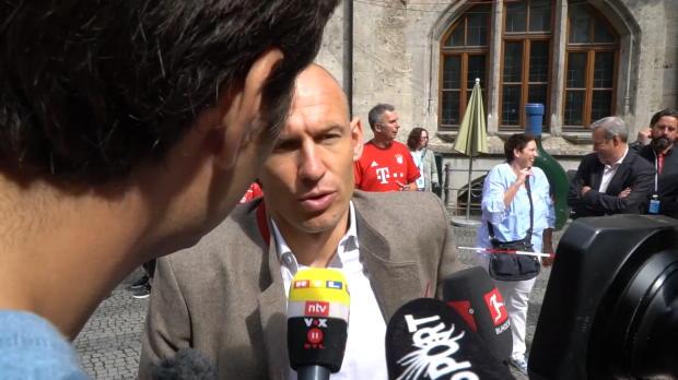 "Robben: Heynckes ""hätte Double verdient gehabt"""