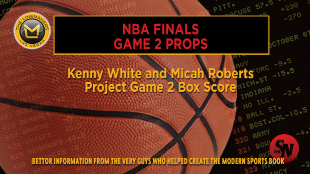 NBA Finals Game Two Props
