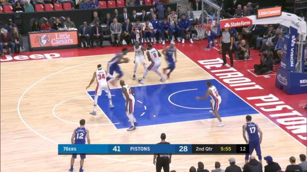 GAME RECAP: Sixers 97, Pistons 86