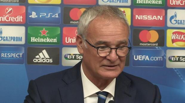 """Ranieri nach 1:0: """"Fans haben uns gepusht"""""""