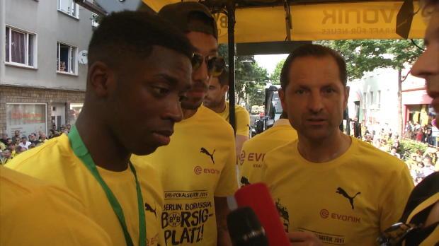 "Aubameyang: Nächste Saison BVB? ""Ich hoffe es"""