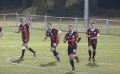 All of the goals from Clarence against Kingborough Lions.