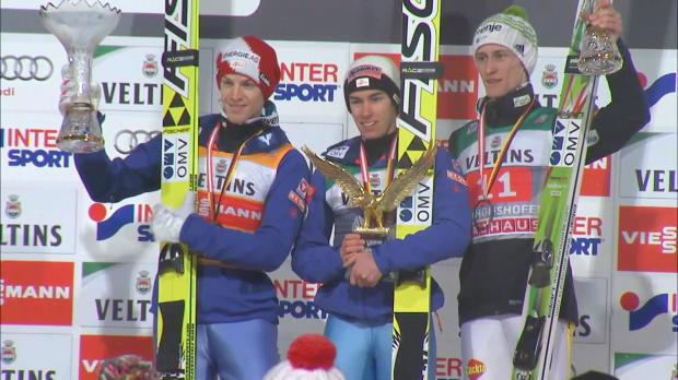 """Skispringen: Hayböck: """"Genial gut von mir"""""""