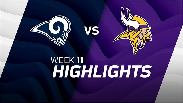 Rams vs. Vikings highlights | Week 11