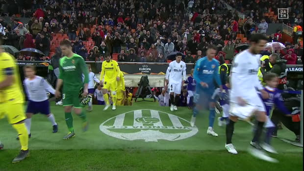 UEFA Europa League: Valencia - Villarreal | DAZN Highlights
