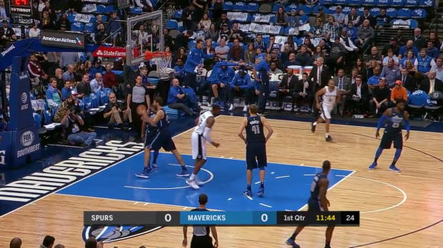 WSC: LaMarcus Aldridge 23 points vs the Mavericks