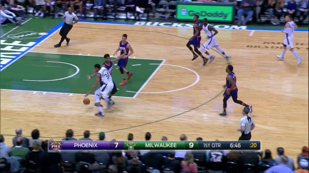 WSC: Highlights: Giannis Antetokounmpo (28 points) vs. the Suns