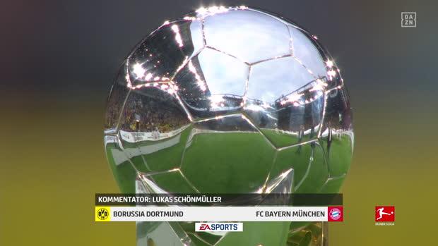 Super Cup: Borussia Dortmund - FC Bayern   DAZN Highlights