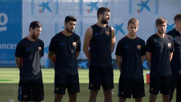 Nach Terror: Barca und Real gedenken Opfern