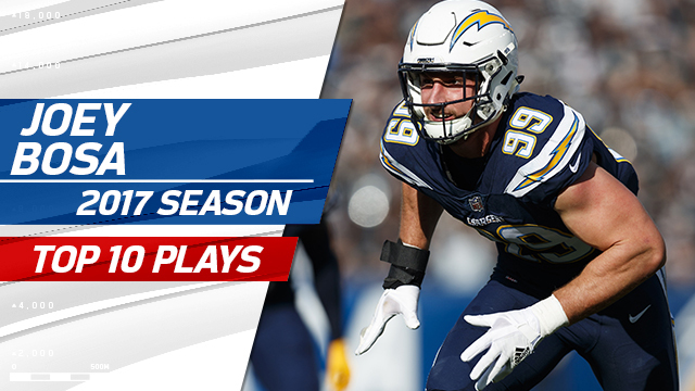 Top 10 Joey Bosa plays | 2017 season