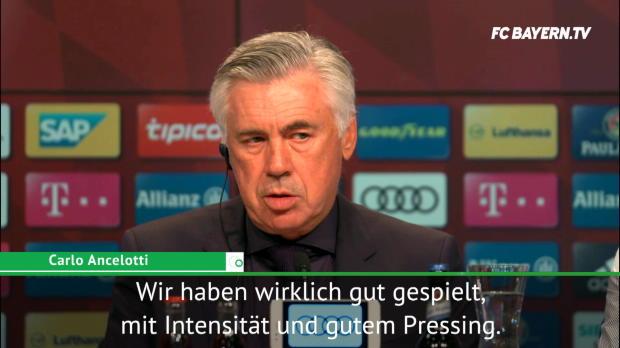 "Ancelotti: ""Offensiv-Bewegung der Schlüssel"""