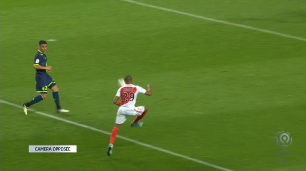 Asistencia mágica de Mbappé, y Falcao anota para dar el título al Mónaco