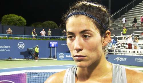 Muguruza Interview: WTA Cincinnati 3R