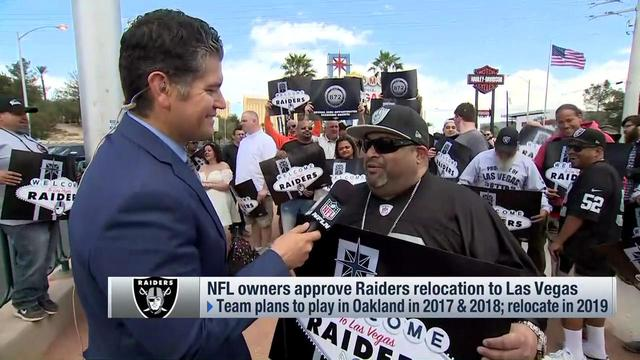 Las Vegas residents react to Oakland Raiders relocation